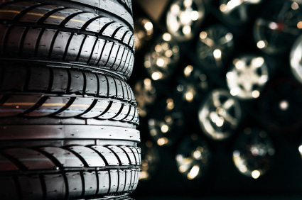 Köp om möjligt nya däck till din bil